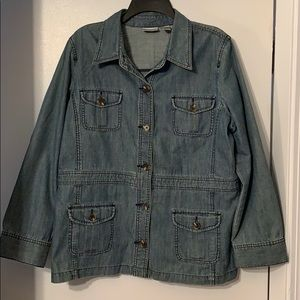 Jean Jacket by Chico's.